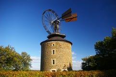 Moinho de vento Fotos de Stock Royalty Free