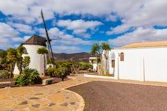 Moinho de vento-Antígua, Fuerteventura, canário Isl , Espanha Foto de Stock Royalty Free