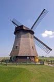 Moinho de vento - cena rural Fotografia de Stock