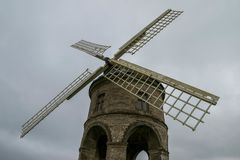 Moinho de vento de Chesterton, Reino Unido imagem de stock