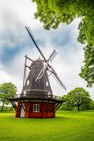 Moinho de vento de Copenhaga em Kastellet Imagem de Stock