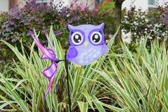 Moinho de vento da coruja Imagem de Stock Royalty Free
