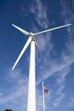 Moinho de vento da energia Foto de Stock Royalty Free