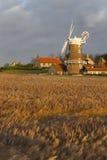 Moinho de vento de Cley Fotos de Stock Royalty Free