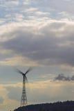 Moinho de vento de giro Imagens de Stock Royalty Free