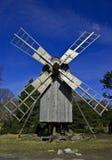 Moinho de vento de madeira Foto de Stock Royalty Free