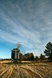 Moinho de vento de madeira velho Foto de Stock Royalty Free