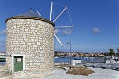Moinho de vento de Medulin Fotografia de Stock