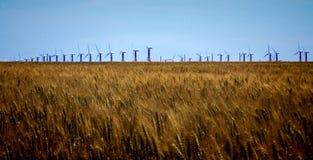Moinho de vento de trabalho Foto de Stock