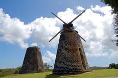 Moinho de vento do bastão de açúcar imagem de stock