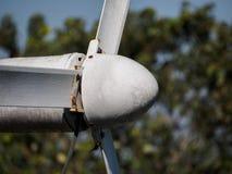 Moinho de vento do close up Fotos de Stock Royalty Free