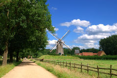 Moinho de vento do vintage Fotografia de Stock Royalty Free