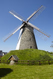 Moinho de vento Duetzen Minden, Alemanha foto de stock royalty free