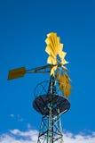 Moinho de vento e nuvens Imagens de Stock Royalty Free