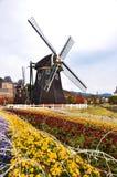 Moinho de vento em Ásia Fotos de Stock Royalty Free