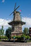 Moinho de vento em Amstardam Fotos de Stock Royalty Free