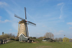 Moinho de vento em Hoofddorp Fotos de Stock