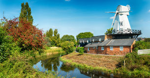Moinho de vento em Rye Fotos de Stock