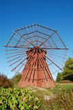 Moinho de vento fino Imagens de Stock Royalty Free