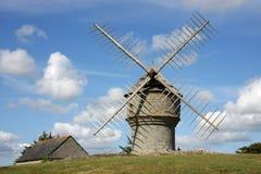 Moinho de vento histórico Foto de Stock Royalty Free