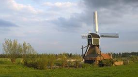 Moinho de vento holandês 4 Imagens de Stock