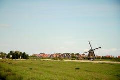 Moinho de vento holandês Imagem de Stock Royalty Free