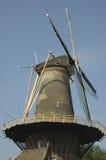 Moinho de vento holandês em Amsterdão Imagens de Stock