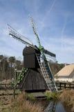 Moinho de vento holandês velho Fotografia de Stock Royalty Free