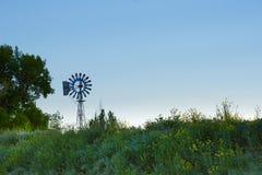 Moinho de vento horizontal Imagens de Stock