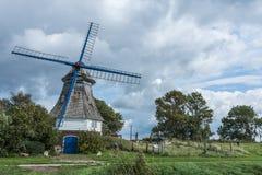 Moinho de vento Immanuel, Alemanha do norte foto de stock