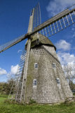 Moinho de vento Jannerup, Dinamarca Imagem de Stock