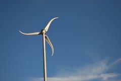 Moinho de vento moderno Fotografia de Stock