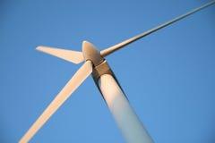 Moinho de vento moderno Foto de Stock