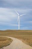 Moinho de vento na extremidade do trajeto Foto de Stock Royalty Free