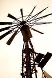 Moinho de vento australiano Fotografia de Stock Royalty Free