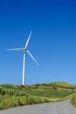 Moinho de vento no monte Foto de Stock Royalty Free
