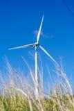 Moinho de vento no monte Imagem de Stock Royalty Free
