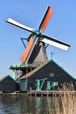 Moinho de vento, Países Baixos Imagem de Stock Royalty Free