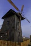 Moinho de vento pequeno velho Imagens de Stock