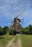 Moinho de vento restaurado Fotografia de Stock Royalty Free