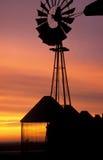 Moinho de vento roxo Foto de Stock Royalty Free