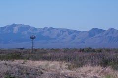 Moinho de vento só Foto de Stock Royalty Free
