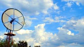 Moinho de vento só imagem de stock