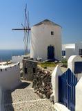 Moinho de vento tradicional Foto de Stock