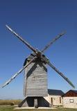 Moinho de vento tradicional Fotografia de Stock