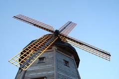 Moinho de vento tradicional de Holland Foto de Stock Royalty Free
