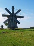 Moinho de vento velho Fotografia de Stock