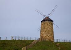 Moinho de vento velho Fotos de Stock