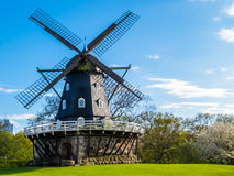 Moinho de vento velho em Malmo, Suécia Fotos de Stock