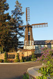 Moinho de vento velho na pensão de Kronborg, Solvang Califórnia Imagem de Stock Royalty Free